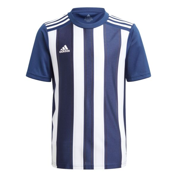 ADIDAS – STRIPED 21 JERSEY YOUTH TEAM NAVY BLUE/WHITE GN7637 ...